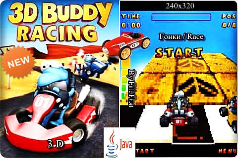 Buddy Racing 3D / Гонка Бадди в 3D