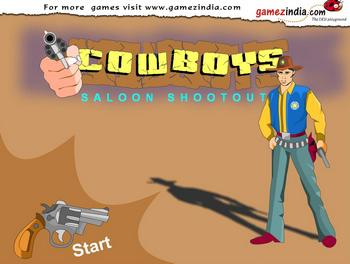 Cowboys Saloon Shootout